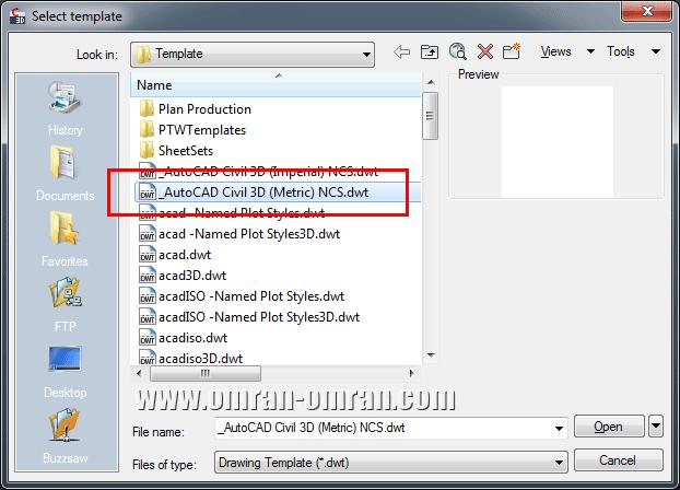 فایل مشخص شده در شکل که یک فایل متریک است را باز کنید.