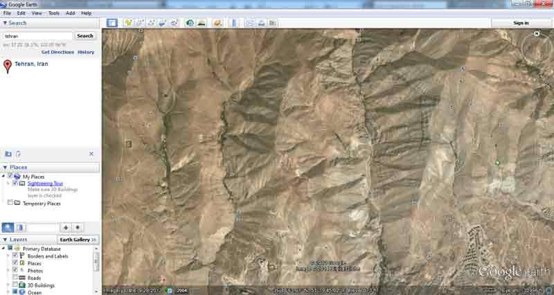 توپوگرافی از Google Earth به Civil3D 2012
