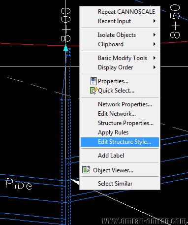 روی Edit Structure Style کلیک کنید
