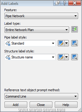 لیبل Entire network plan